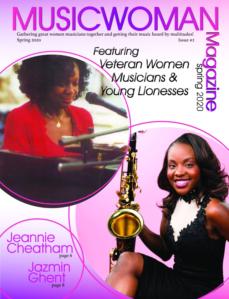 1musicwomen magazine 2020 cover